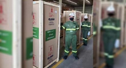 A doação dos refrigeradores equipamentos totaliza aproximadamente R$ 1,5 milhão