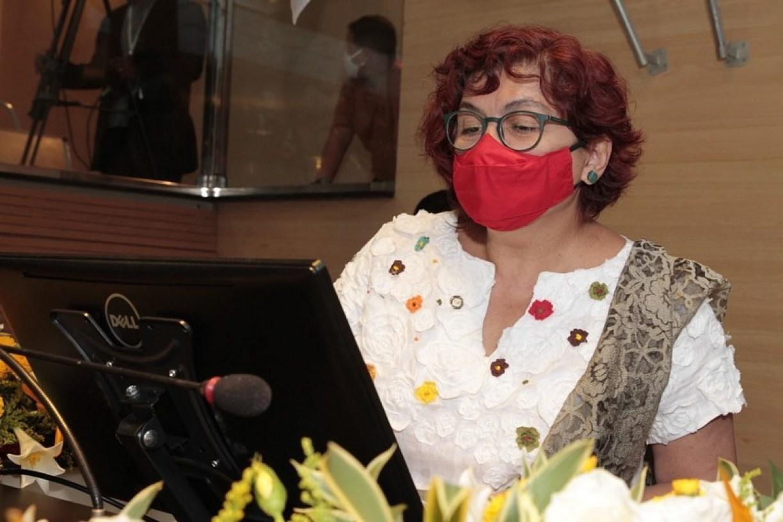 Em resposta a Priscila, Cida Pedrosa diz que fazer PPP dos parques é diferente de privatizar