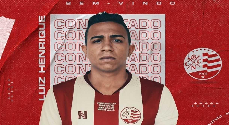 Náutico acerta retorno do volante Luiz Henrique, cria das categorias de base