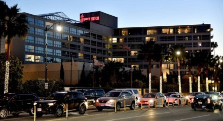 Hotel Beverly Hilton, em Beverly Hills, California