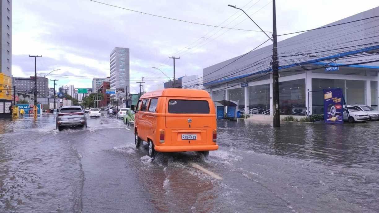 Veja onde mais choveu no Grande Recife nesta segunda-feira (1º)