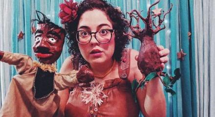 Luíza Fontes criou o espetáculo durante o isolamento social