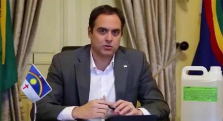 Paulo Câmara, live da TV Jornal