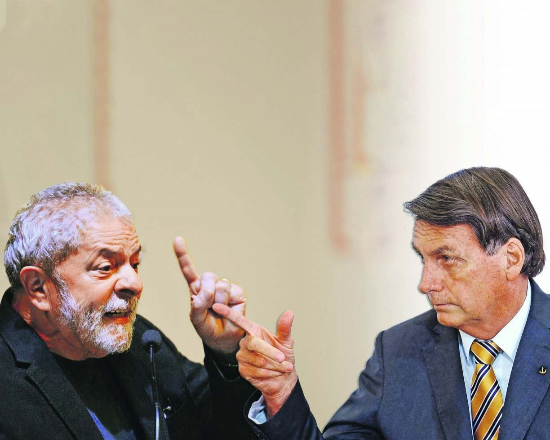 Lula e Bolsonaro precisam um do outro para estarem vivos nas eleições. Se um não tivesse o outro, desapareceria