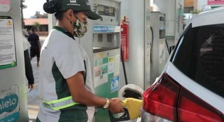 reajuste para os combustíveis a partir desta terça-feira, 9.