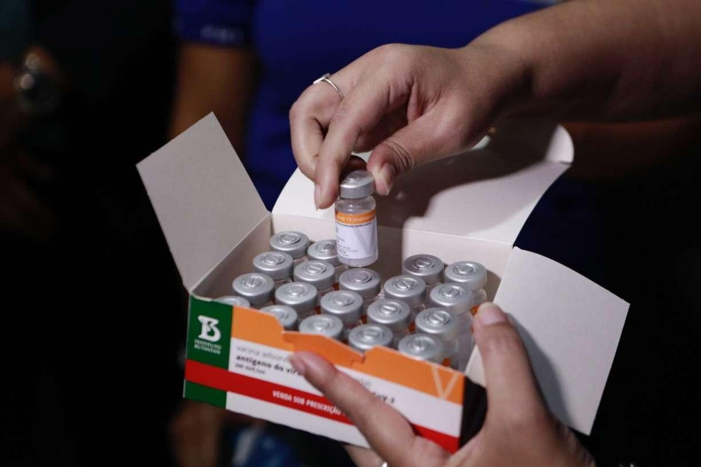 Butantan irá receber 3 mil litros de insumo para fabricar 5 milhões de doses da CoronaVac