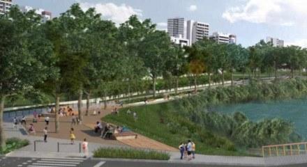 O Parque Capibaribe é um sistema de parques integrados no Recife