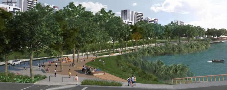 No aniversário da cidade, Prefeitura do Recife inicia construção do Parque das Graças