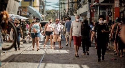 Cidade, Comércio, Pessoas, Economia, Aglomeração, Pandemia, Covid-19