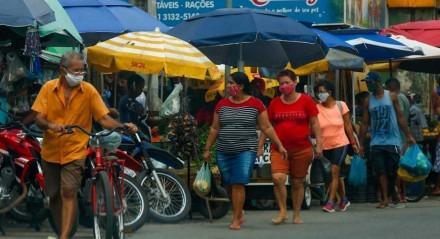 Movimentação nos bairros de Beberibe e Água Fria