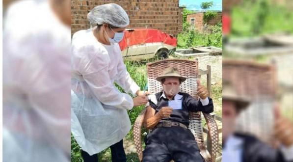 Idoso de 115 anos morre devido a complicações da covid-19 em Paulista