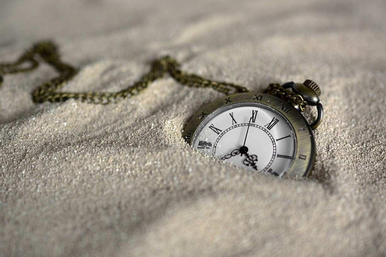 O tempo está dentro de mim