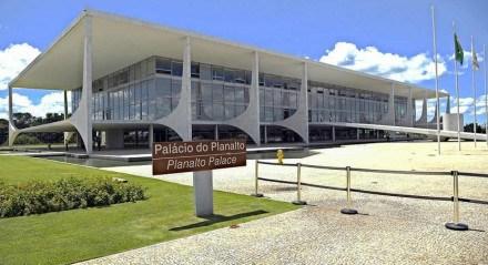 Fachada do Palácio do Planalto, local de trabalho do presidente do Brasil