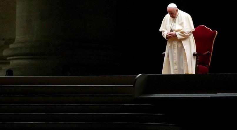 ANGELO CARCONI / POOL / AFP