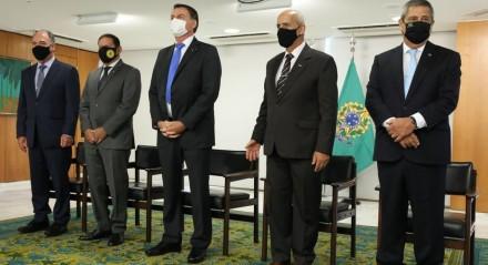 (Brasília - DF, 06/04/2021) Solenidade de Transmissa?o de Cargo de Ministro de Estado da Defesa, Braga Netto. Fotos: Marcos Corrêa/PR