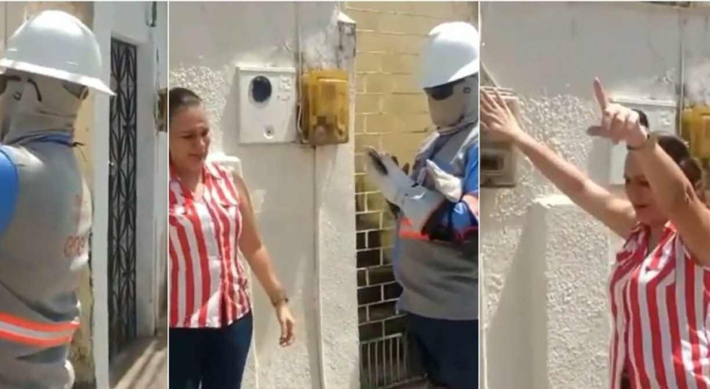 Mulher impede corte de energia na casa de tio internado com o novo coronavírus