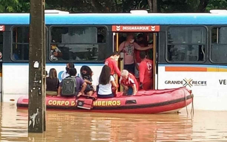 Deslizamentos de barreiras, quedas de árvores e 270 pessoas desalojadas; veja balanço da chuva em Pernambuco