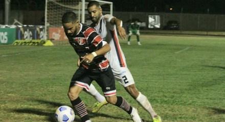 O Santa Cruz perdeu para o Cianorte por 1x0 e foi eliminado da Copa do Brasil na segunda fase.