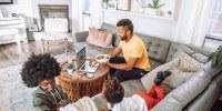 Pandemia trouxe o escritório para dentro de casa e imóveis mais amplos ajudam a manter o isolamento social com mais conforto