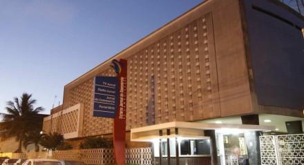 Fachada do prédio do Sistema Jornal do Commercio de Comunicação.