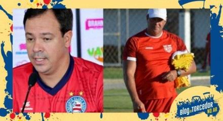 Técnicos pernambucanos comandam equipes da Bahia e de Alagoas nas quartas de final da Copa do Nordeste.