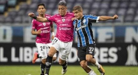 Grêmio caiu para o Independiente Del Valle.