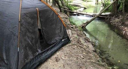 O camping Trilha da Natureza, na Guabiraba, oferece uma boa interação com a natureza