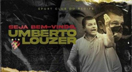 Umberto Louzer é o novo técnico do Sport para a sequência da temporada 2021