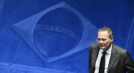 O senador Renan Calheiros (MDB-AL)