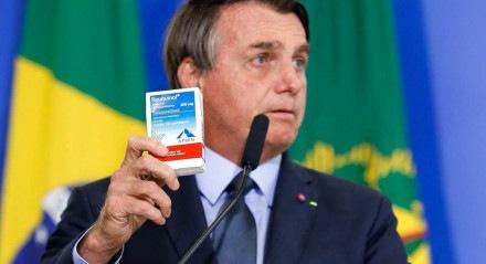 O presidente Jair Bolsonaro foi um dos defensores do chamado tratamento precoce