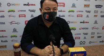 Fabiano Melo vai tentar dar rumo ao departamento de futebol do Santa Cruz