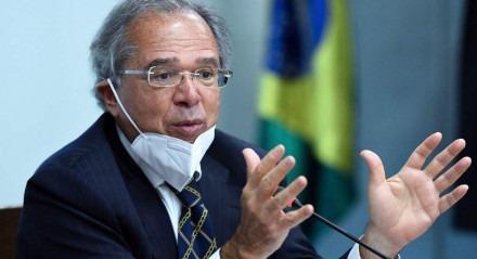 O ministro da Economia, Paulo Guedes, não sabia que a fala estava sendo gravada