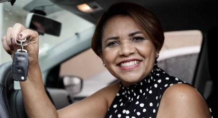 Ednalva Maria trocou financiamento por consórcio e já foi contemplada para mudar de carro