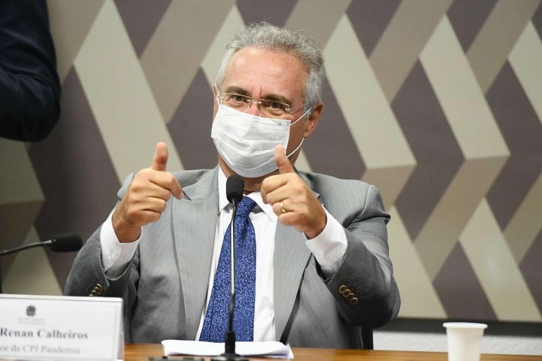 Senadores entram no STF contra Renan Calheiros na CPI da Pandemia