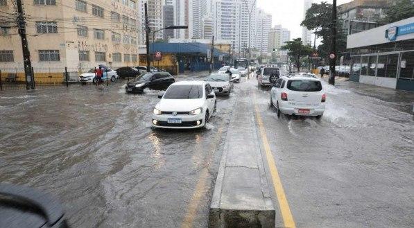 Inmet emite alerta de chuva forte para o Grande Recife e Zona da Mata pernambucana