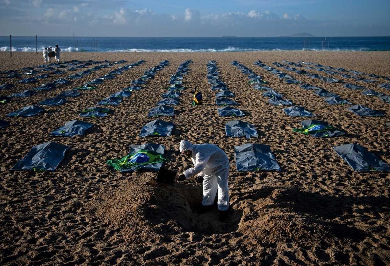 Brasil registra 2.189 mortes por covid-19 nas últimas 24 horas