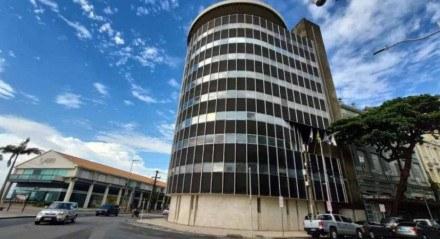 O escritório do Grupo João Santos fica no Bairro do Recife e ontem foi alvo da operação da Polícia Federal