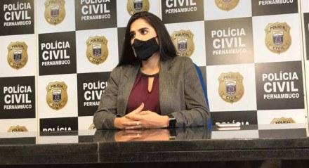 Isabela Veras, degelada da Polícia Civil