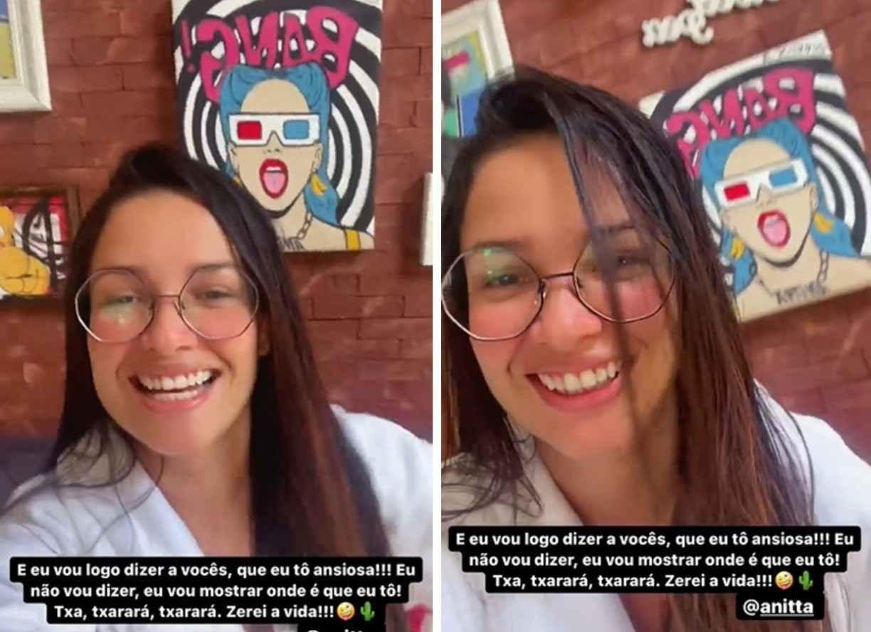 Juliette se hospeda na casa de Anitta: ''Zerei a vida''