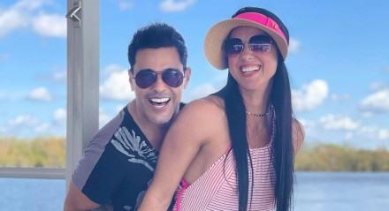 Zezé Di Camargo e Graciele Lacerda estão juntos há mais de dez anos