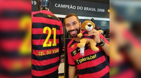 Gil do Vigor revelou ser torcedor do Sport quando ainda estava no confinamento no BBB 21.
