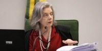 Ministra Cármen Lúcia preside sessão da 2ª turma do STF.