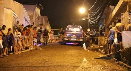 Homicídio em Camaragibe.