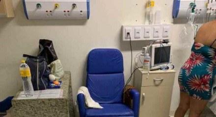 Hospital Barão de Lucena na manhã desta quinta-feira (13)
