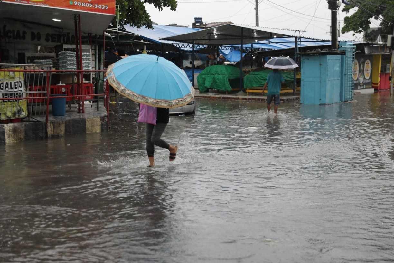 Apac alerta para continuidade de chuvas fortes nesta quinta (13) em várias regiões de Pernambuco