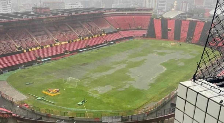 Chuvas fortes ameaçam primeiro jogo da final na Ilha do Retiro entre Sport x Náutico