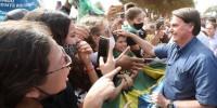 Jair Bolsonaro e apoiadores