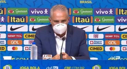 Técnico Tite convocou a Seleção Brasileira para os próximos dois jogos das Eliminatórias