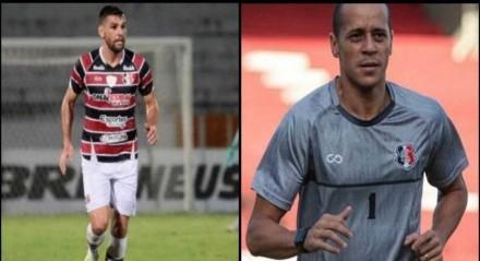 Especulados para deixar o Santa Cruz, William Alves e Derley seguem no Arruda.