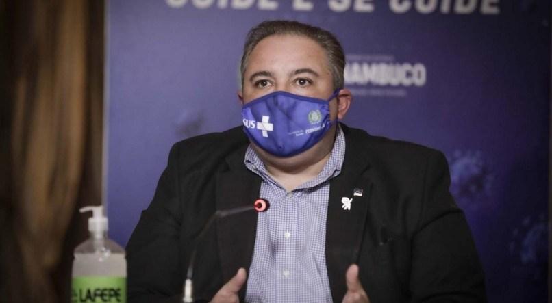 Acompanhe coletiva de imprensa do Governo de Pernambuco sobre a pandemia da  covid-19